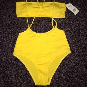 Zaful Overall Strap Bikini
